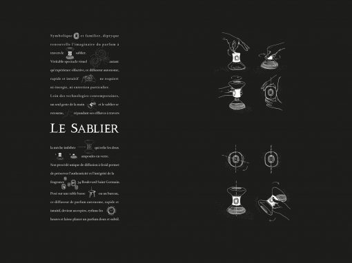 """Le Sablier""<br><strong>DiPTYQUE</strong>"
